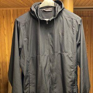 Under armor windbreaker jacket